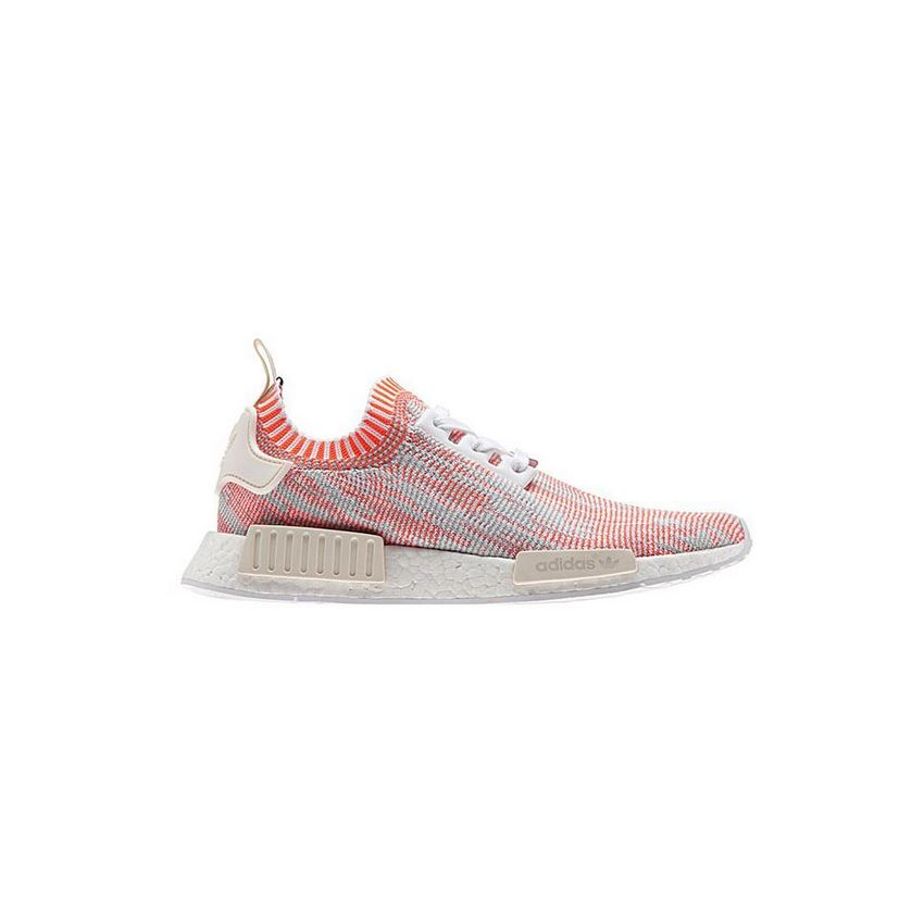 Adidas NMD R1 Boost Runner Primeknit Graphic White Solar Red
